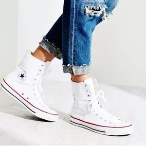 Converse High Tops in White
